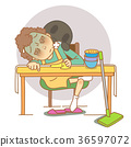 illustration adults bottle 36597072