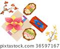 Chuseok object, sensibility concept illustration 006 36597167