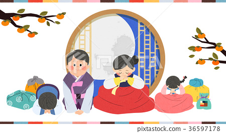 in Chuseok, spending time with your family. 006 36597178