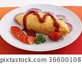 它看起來很美味的煎蛋捲飯 36600108