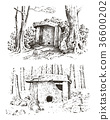prehistoric house ancient 36600202