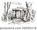 prehistoric house ancient 36600216