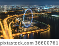 Singapore beautiful cityview from OCBC Skyway 36600761