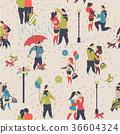 seamless, pattern, couple 36604324