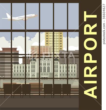 Airport views 36604627