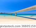Tsunoshima Ohashi-A bridge over the emerald green sea-a scenic spot on Yamaguchi Prefecture- 36605150
