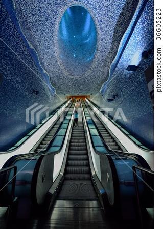 Toledo Station, Naples Metro, Italy / Naples-Toledo Metro Station 36605223