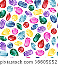 gem, pattern, white 36605952