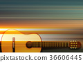 background, guitar, acoustic 36606445