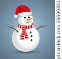 Christmas snowman 36606861