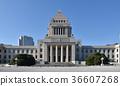국회 의사당 정면 36607268