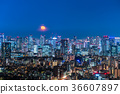東京與月光的夜視圖 36607897