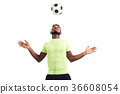 Portrait of Talented Soccer Player 36608054