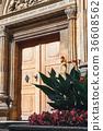 close up of the doors, Prague castle 36608562