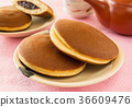 dorayaki, wagashi, japanese confectionery 36609476