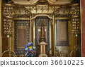 buddhist altar, buddhist alter equipment, gold 36610225