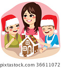 christmas, family, cooking 36611072