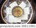 boiled tofu, tofu, bean curd 36611981