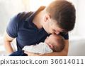 父親 爸爸 嬰兒 36614011
