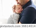 父親 爸爸 嬰兒 36614014