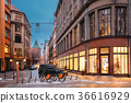 Riga, Latvia. Shop And Powder Tower On Valnu 36616929