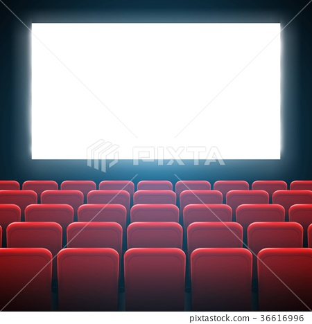 Creative vector illustration of movie cinema 36616996