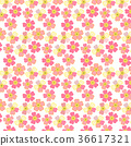 Romantic floral background. Japanese daisies 36617321