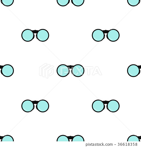 binoculars pattern seamless 36618358