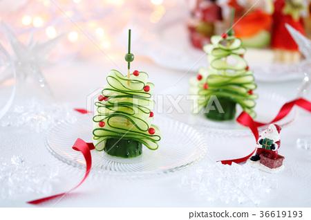 黃瓜聖誕樹 36619193