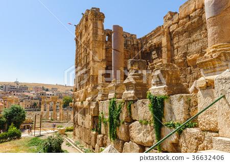 Baalbek Ancient city in Lebanon. 36632406