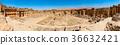 Baalbek Ancient city in Lebanon.Panorama. 36632421