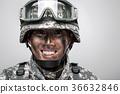 군인, 군복, 헬멧 36632846