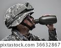 군인, 군복, 헬멧 36632867