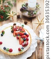 세련된 베리 치즈 케이크 36635392
