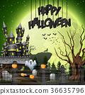 萬聖節 城堡 幽靈 36635796