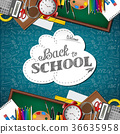 Welcome back to school with school supplies 36635958