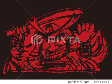 Nebuta watercolor painting 36635991