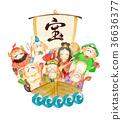 七福神 神 上帝 36636377
