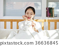 커피, 침대, 20대 36636845