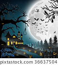Halloween background 36637504