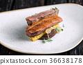 duck fillet polenta 36638178