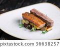 Meat duck polenta 36638257
