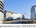 역전, 역 앞, 모노레일 36638430