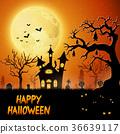 halloween pumpkin bat 36639117
