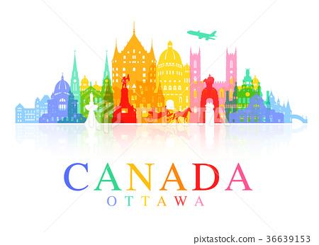Canada Travel Landmarks. 36639153