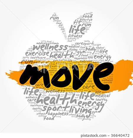 MOVE apple word cloud collage 36640472