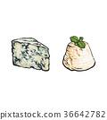 向量 向量圖 奶酪 36642782