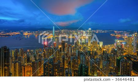 Hong kong skyline 36646481