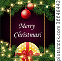 christmas background merry 36648442
