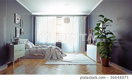 modern bedroom 36648975